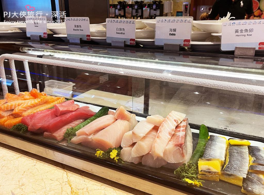 澎湖喜來登飯店吃到飽美食推薦平價便宜海鮮生魚片