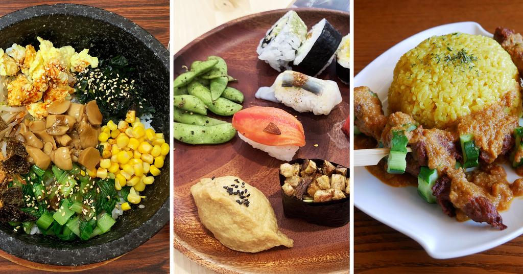 台中素食餐廳推薦異國料理日式韓式南洋全素蛋奶素