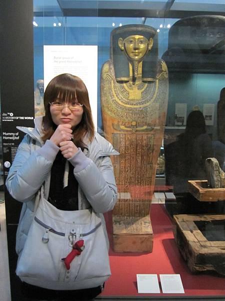 大英博物館內埃及館木乃伊~