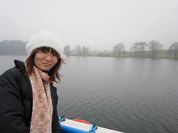 搭船是可樂旅遊的最愛~~來到湖區一定要搭的