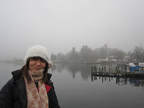 來到英國西北著名湖區~foggy that day
