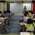 胖哥上課隨時與學生特優的互動!