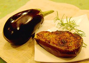 日式味噌烤茄子