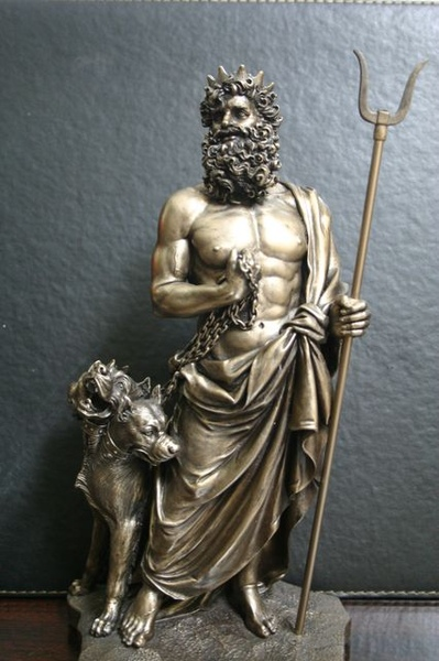 仿銅像材質-冥王Hades、Pluto