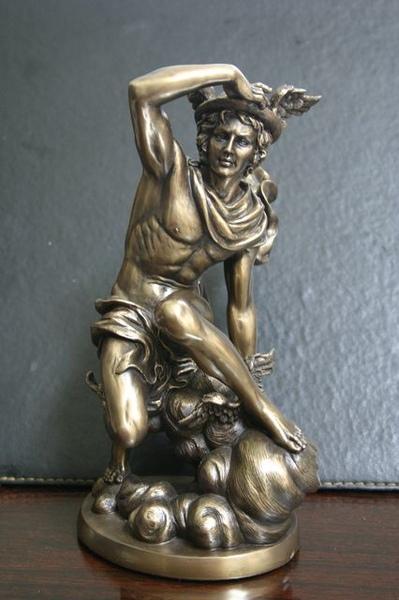 仿銅像材質-訊息之神Mercury、Hermes