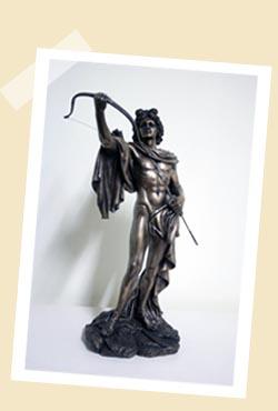 仿銅像材質-太陽神Apollo