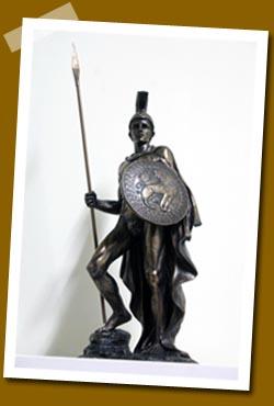 仿銅像材質-戰神 Mars