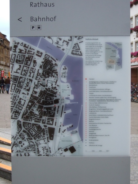 康斯坦斯觀光地圖
