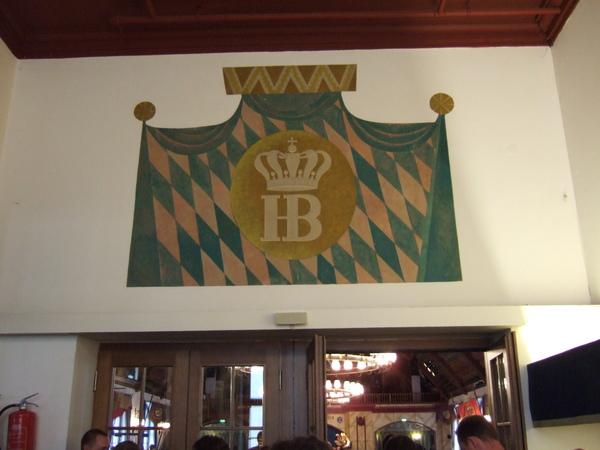幕尼黑皇家啤酒館二樓入口