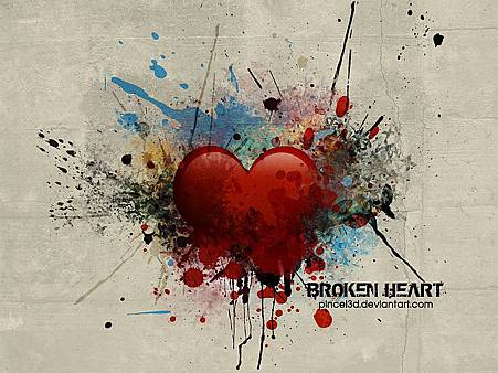 Love_and_heart_Broken_Heart_by_wallcoo