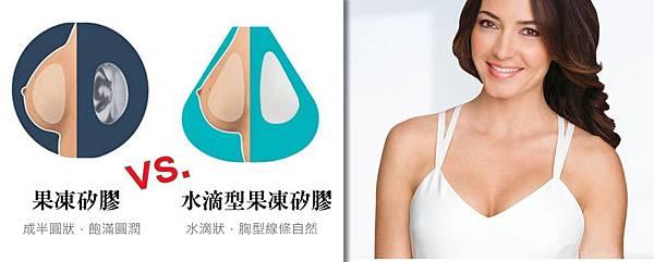 002水滴型果凍矽膠隆乳手術蕭奕君多少錢觸感案例.jpg