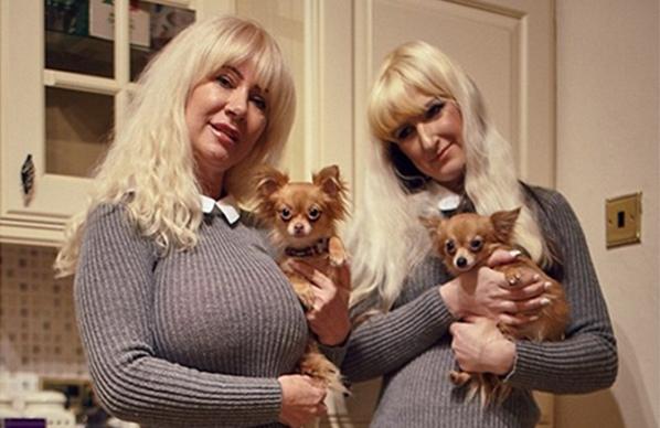 英國大媽瘋狂整型 只為看起來與女兒更相像!