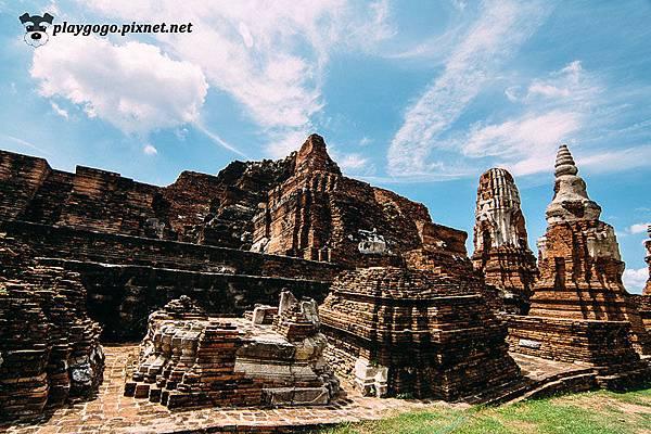 大城 瑪哈泰寺 Wat Maha That (16)