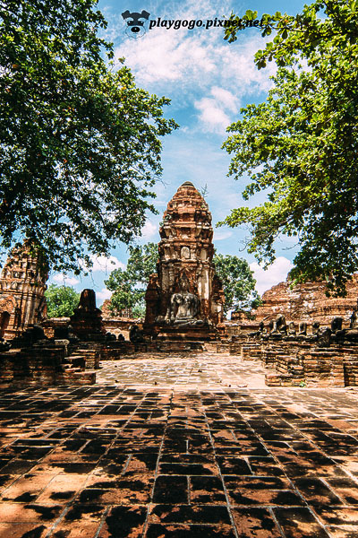 大城 瑪哈泰寺 Wat Maha That (21)