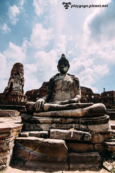 大城 瑪哈泰寺 Wat Maha That (12)