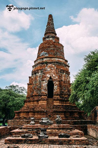 泰國 大城  Wat Ratchaburana 拉嘉布拉那寺 (3).jpg