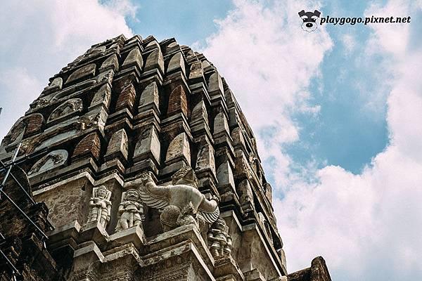 泰國 大城  Wat Ratchaburana 拉嘉布拉那寺 (17).jpg