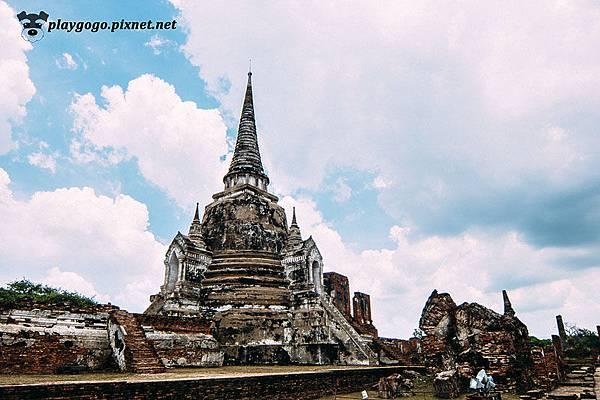 大城 帕席桑碧寺 Wat Phra Si Sanphet (2).jpg