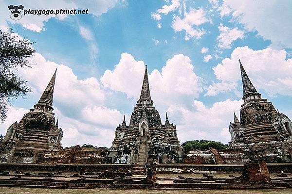 大城 帕席桑碧寺 Wat Phra Si Sanphet (1).jpg