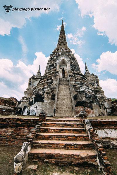 大城 帕席桑碧寺 Wat Phra Si Sanphet (3).jpg