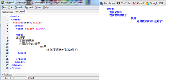 HTML呈現原始