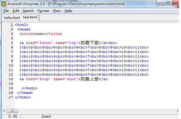 HTML毛點