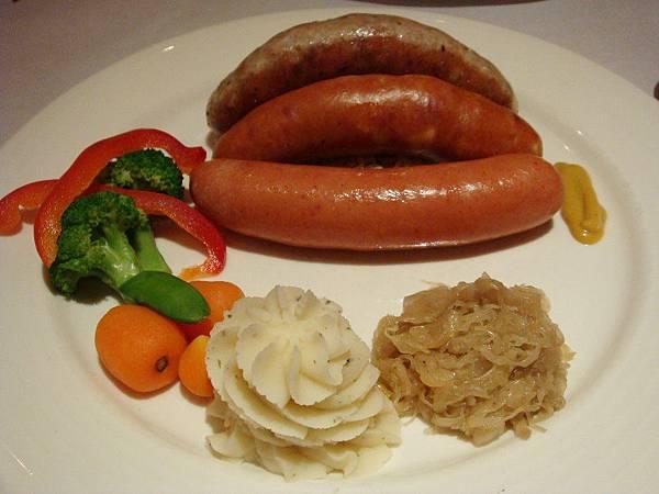德式綜合腸套餐【B】