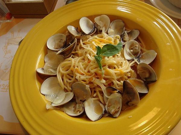 蒜香微醺蛤蠣