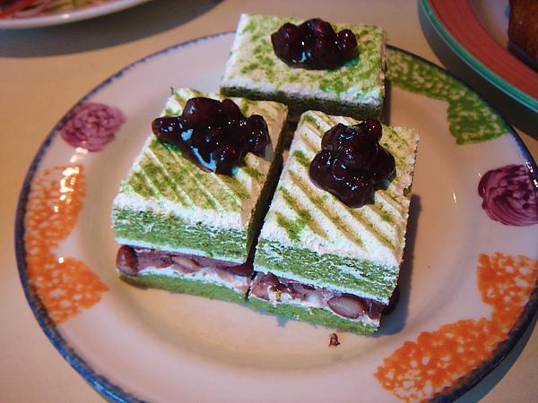 抹茶紅豆蛋糕