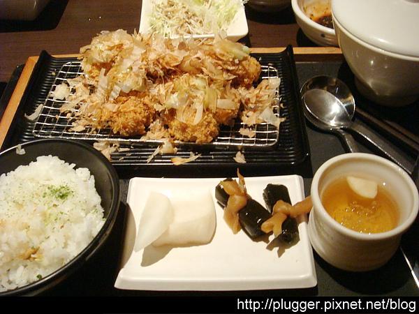 章魚燒豬排