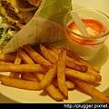 裹漿薯條+果香輕酪