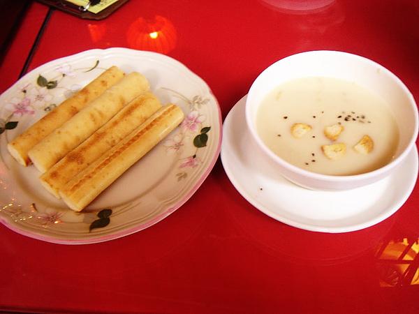 濃湯+麵包