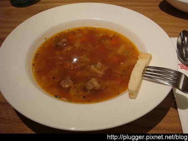 義式番茄牛肉燉湯 $45