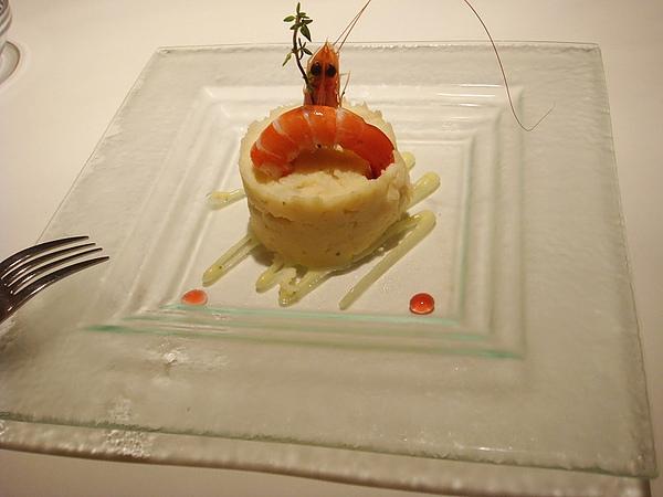 沙拉:鮮蝦洋芋沙拉
