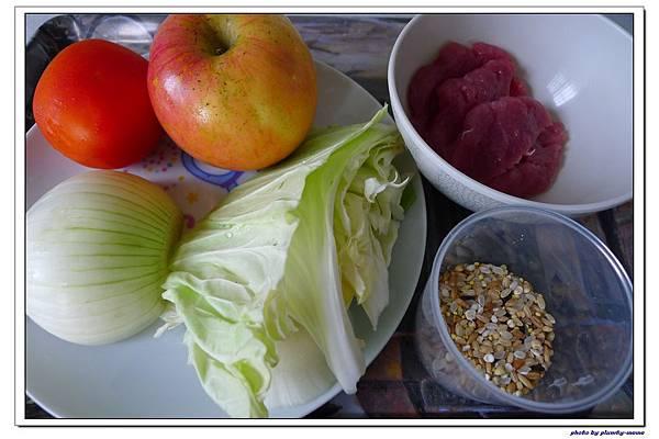 副食品-蔬菜蘋果豬肉五穀米糊 (2)