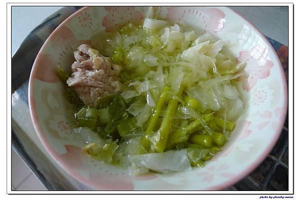 副食品-青蔥高麗菜蘆筍五穀粥 (6)