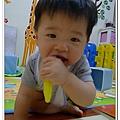 香蕉牙刷Baby Banana Brush試用 (7)