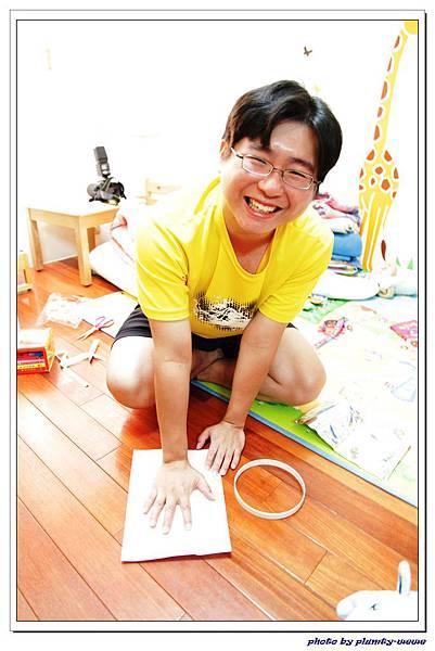 新新週歲系列-baby art腳ㄚ製作 (7)