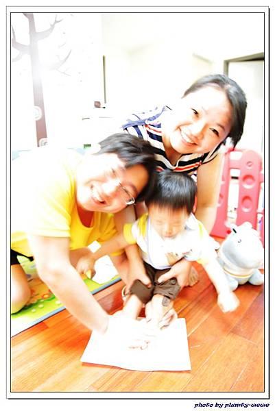 新新週歲系列-baby art腳ㄚ製作 (9)