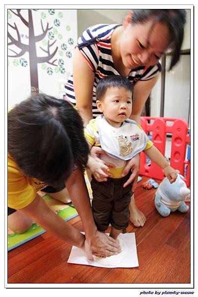 新新週歲系列-baby art腳ㄚ製作 (10)