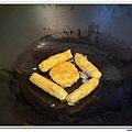 父親節副食品-番薯蛋黃米餅+燙青花椰菜 (10)