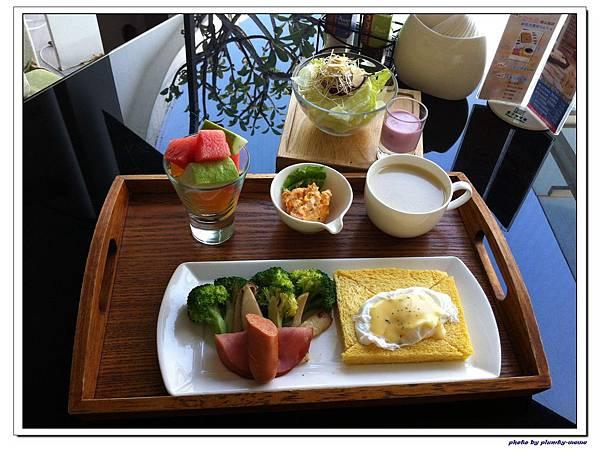 1001梨子咖啡館吃早餐 (2)