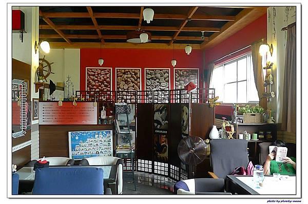 樺鄉咖啡莊園-室內餐廳