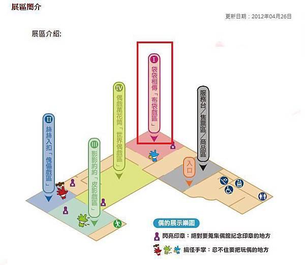 台北偶戲館展區簡介1