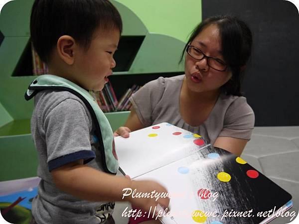 小書蟲玩樂PG-國美館 兒童繪本區 (3)