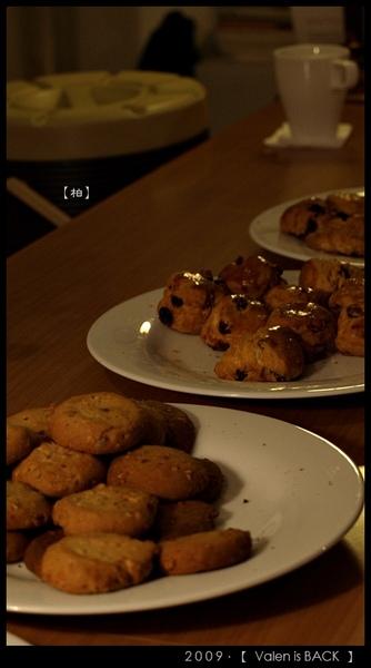 現場提供的美味小餅乾