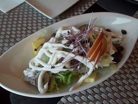 希臘莊園水果沙拉佐白蘭地優格醬