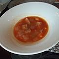 威尼斯蔬菜雞肉番茄清湯