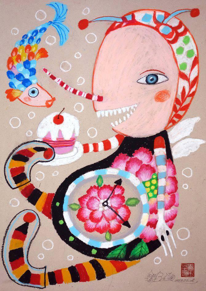 知名插畫家王子麵的作品,造型特別討喜