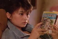 侯孝賢導演《尼羅河女兒》的主角楊林在劇中看《尼羅河女兒》漫畫書